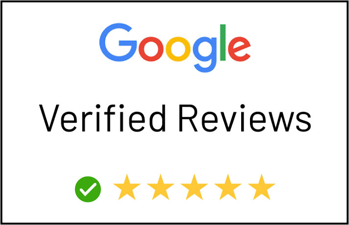 Verified Google Reviews